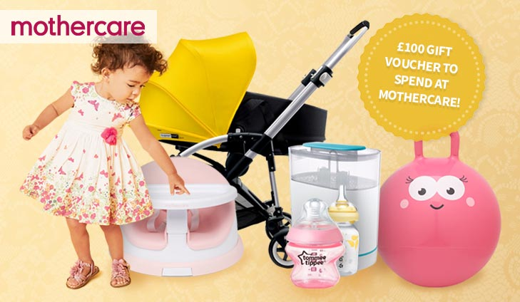 FREE £100 spend at Mothercare