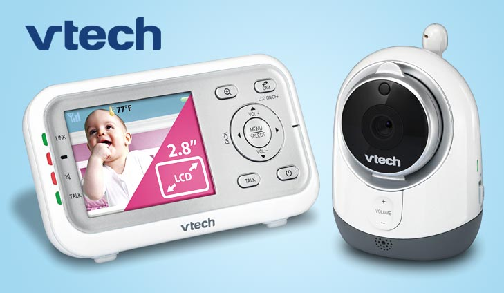Win an amazing VTech Video Baby Monitor