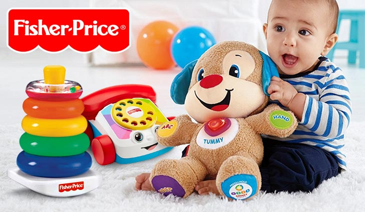 Win a Baby Toy Bundle from Fisher-Price