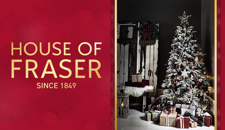 Up to 40% off with at House of Fraser