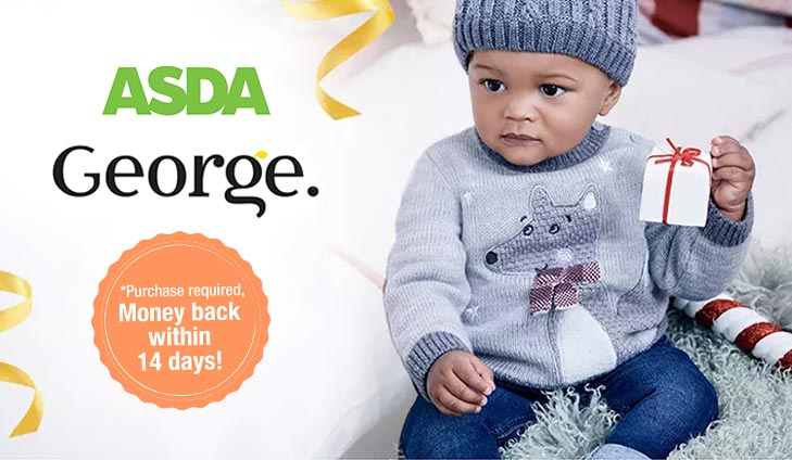 FREE £15 spend at ASDA George!