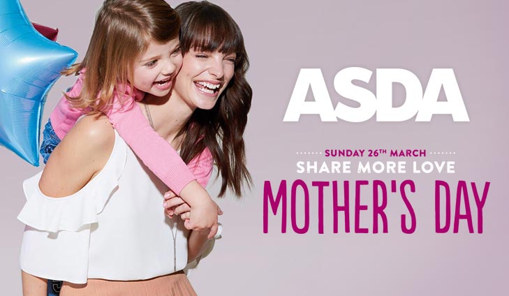 Mother's Day at ASDA